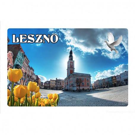 Imán con efecto 3D Mercado de Leszno