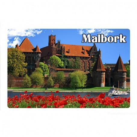 Imán con efecto 3D Panorama de Malbork