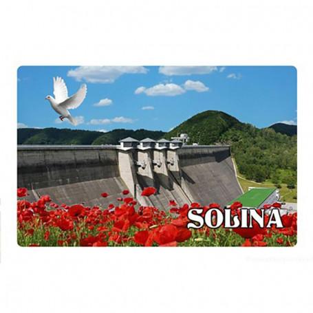 Aimant avec effet 3D Barrage de Solina
