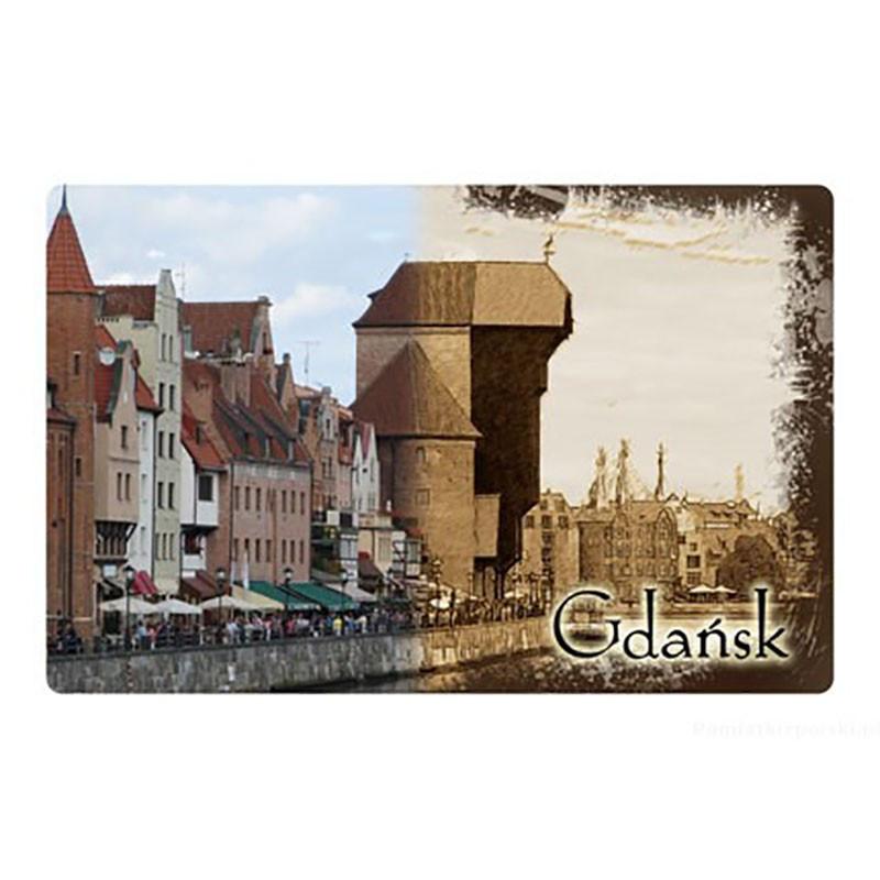 Aimant 2D Grue de Gdańsk
