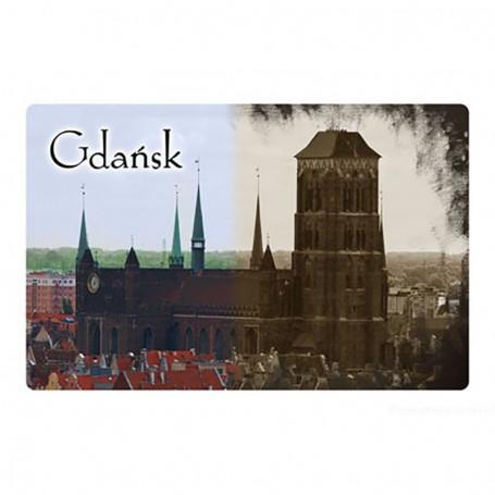 Aimant 2D Cathédrale de Gdansk
