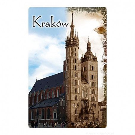 Magnes 2D Kraków Kościół Mariacki