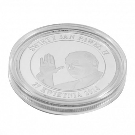 Saint coin Jean Paul II argent