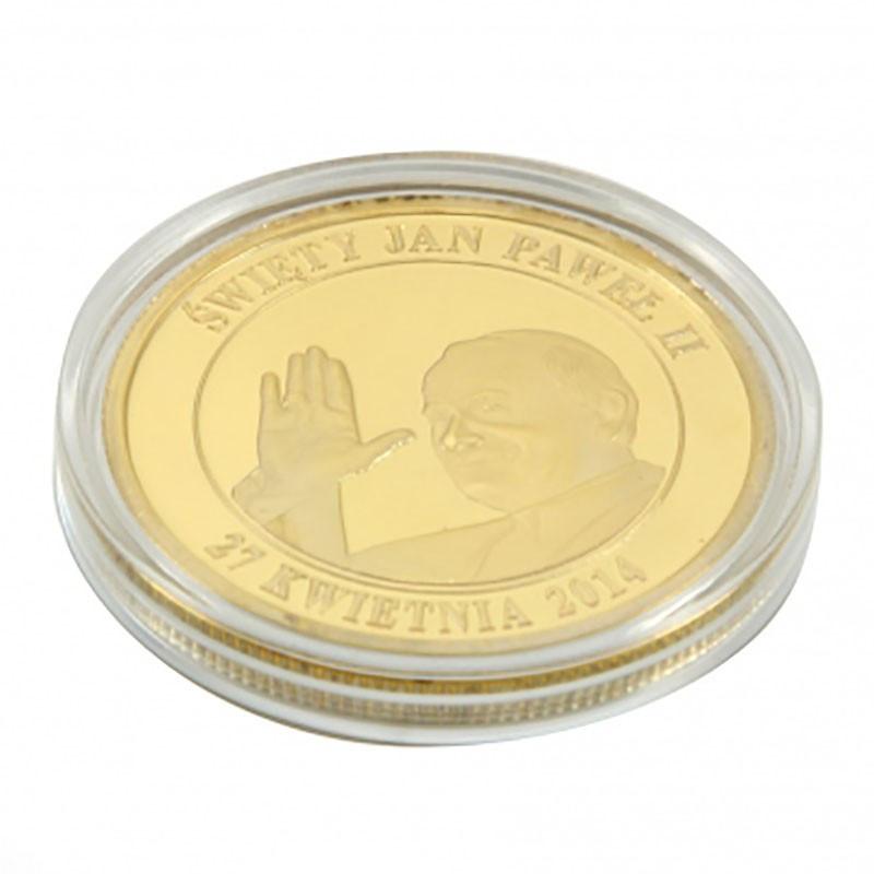 Moneta Św. Jan Paweł II złoty