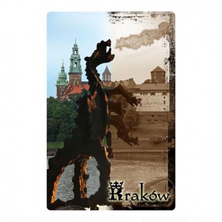 Imán 2D Cracow Dragon