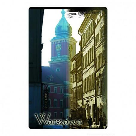 Aimant 2D Varsovie Vieille Ville