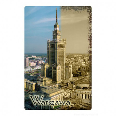 Magnes 2D Warszawa Pałac Kultury