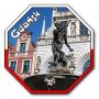 Aimant avec un effet 3D STOP Gdańsk Neptun