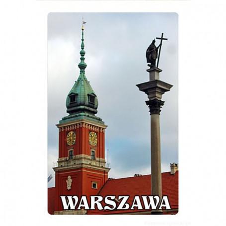 Magnes 2D zmieniające obrazy, Warszawa