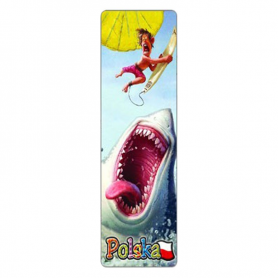 Marque-page 3D Pologne, requin