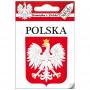 Autocollant Pologne single