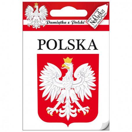 Naklejka pojedyncza Polska