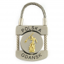 Porte-clé en métal, cadenas Gdańsk