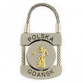 Keyring padlock Gdansk