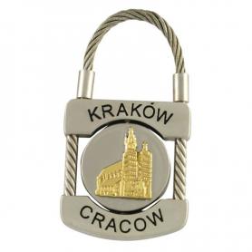 Brelok metalowy, kłódka Kraków