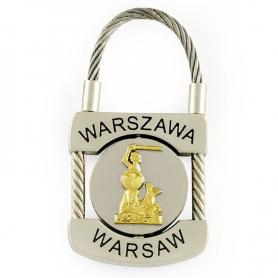 Brelok metalowy, kłódka Warszawa