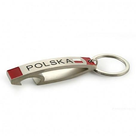 Porte-clés en métal, cintré