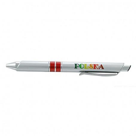 Długopis srebrny Folklor