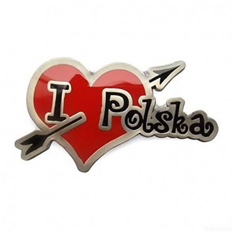 Magnes I love Polska