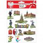 Autocollants convexes Varsovie