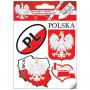 Ensemble d'autocollants Pologne