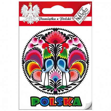 Sticker Single Pologne - découpe