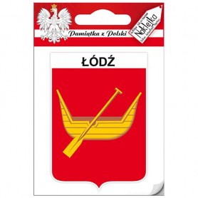 Aufkleber Einzelwappen Łódź