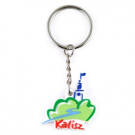 Porte-clé en caoutchouc - Kalisz