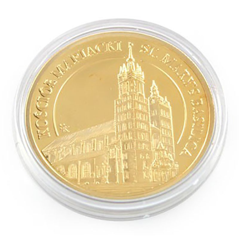Moneta Kościół Mariacki złota