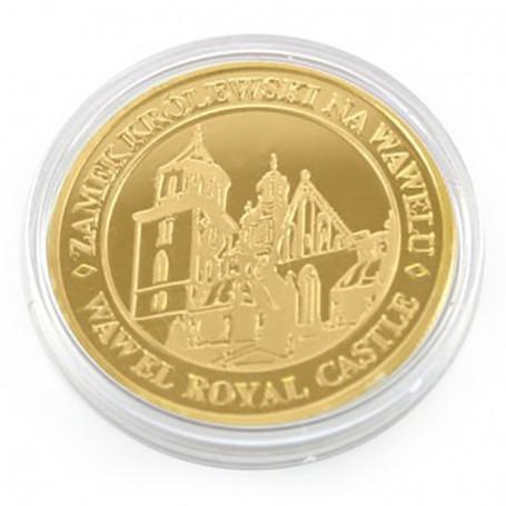Moneta Wawel złota