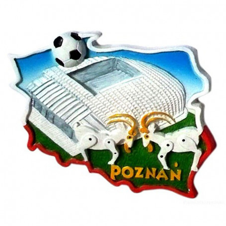 Aimant contour Stade de Poznań