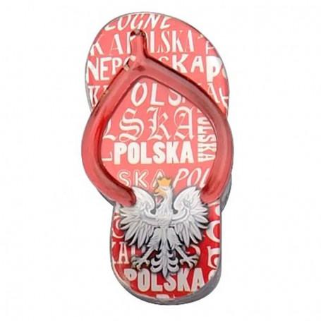 Clip plástico imán - Aletas de Polonia