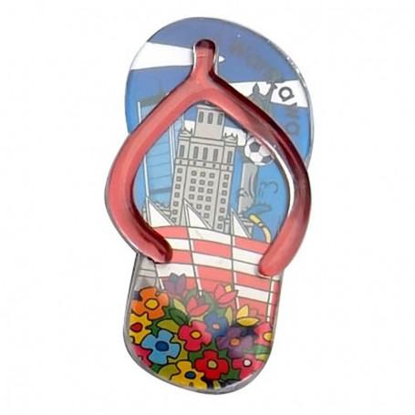 Clip plástico imán - solapas Varsovia