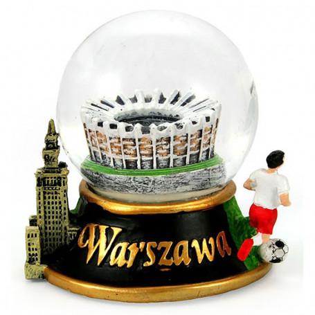 Sněhová koule 60 mm - Varšavský národní stadion