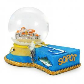 Snow globe 45 mm - Sopot