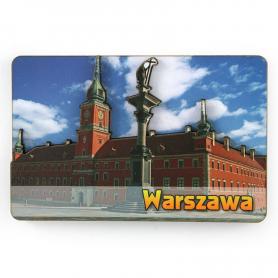 MDF-Magnet Warschau-königliches Schloss