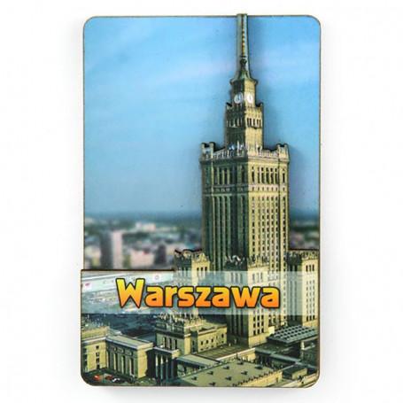 Imán MDF Palacio de la Cultura de Varsovia