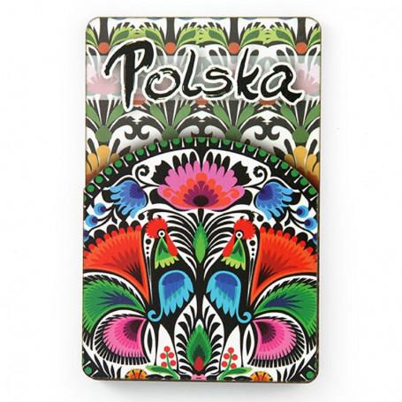 Aimant folklorique MDF Polska
