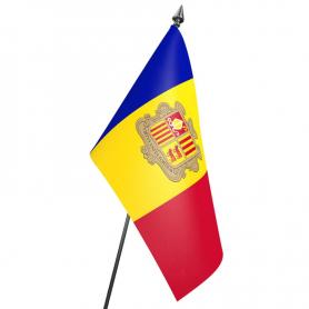 Andora flag 15 x 24 cm
