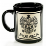 Kubek czarny, cięty Polska