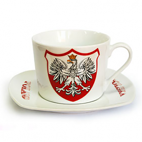 Stačiakampis keramikos puodelis
