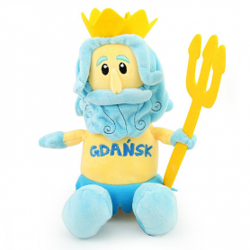 Plüschtier Maskottchen Gdansk Neptun