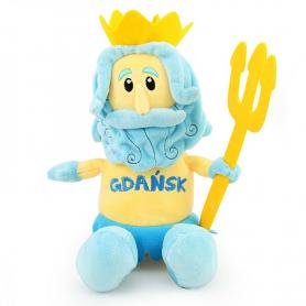 Plush toy mascot Gdansk Neptune