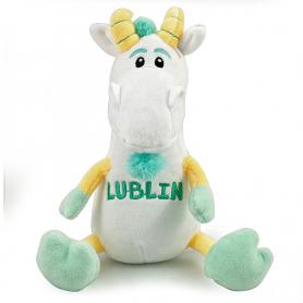 Plush toy mascot Lublin goat