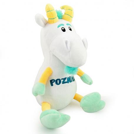 Peluche mascotte Poznań chevre