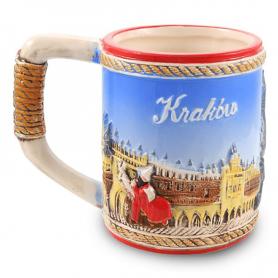 Kubek szkliwiony Kraków