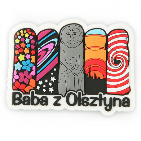 Aimant en caoutchouc Baba d'Olsztyn