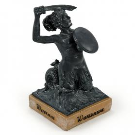 Statue Warschauer Meerjungfrau