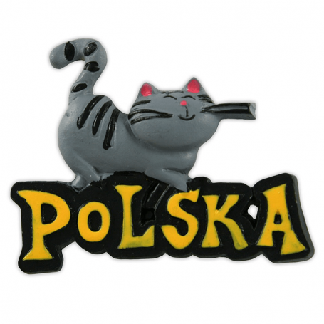 Aimant chat Pologne