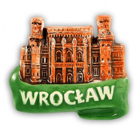 Aimant frigo en céramique Wrocław Dworzec